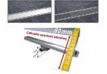 Žľab Kessel Linearis Compact kúpeľnový kompletná, dĺžka 850 mm
