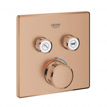 Batéria termostatická Grohe Grohtherm SmartControl 1-prijímač vody chróm - sanitbuy.pl