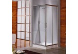 Kabina prysznicowa Novellini Lunes A 87-90 cm narożna - 1 część- sanitbuy.pl