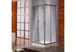Kabina prysznicowa Novellini Lunes A 75-78 cm narożna - 1 część- sanitbuy.pl