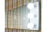 Nástěnné zrcadlo Flaminia Make-Up montaż poziom/pion, 150 x 100 x 3 cm, nie zawiera lamp- sanitbuy.pl